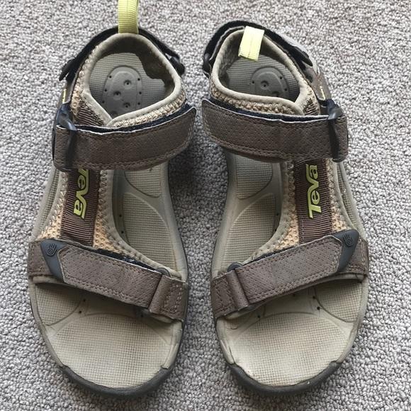 Teva Shoes - TEVA OPEN TOACHI SPORT SANDALS TAUPE BROWN 5.5